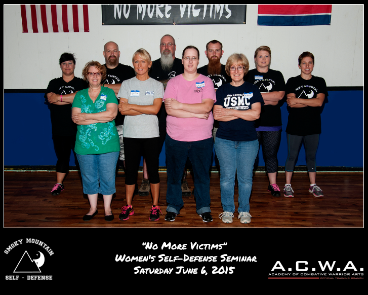 SMSD-No-More-Victims-Women's-Self-Defense-Seminar-Saturday-June-6,-2015